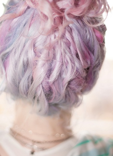 cotton candy hair | rachelinvogue